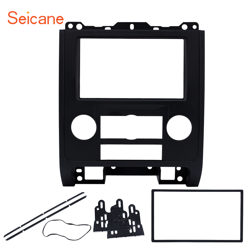 Seicane 2 Din Car Radio DVD Fascia Frame Mount Refitting Kit Panel For MAZDA Tribute MERCURY Mariner Ford Escape 2 din car refitting frame panel for jaguar s
