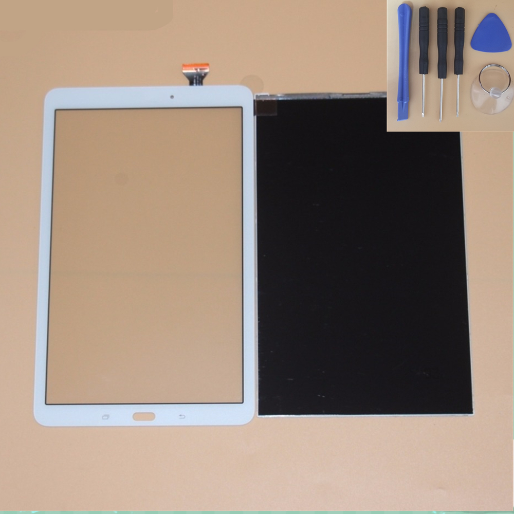 Tested 100% For Samsung Galaxy Tab E 9.6 SM-T560 T560 T561 LCD Display + Touch Screen Digiitzer Glass Panel Repair Part