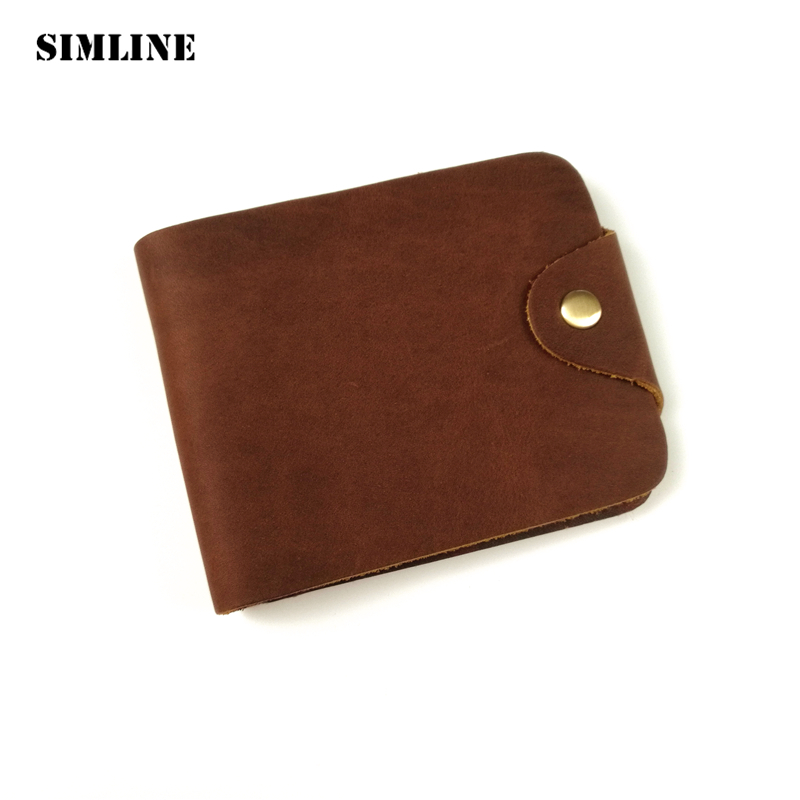 100% Top Quality Brand Cow Genuine Leather Men Wallets Luxury,Dollar Price Short Style Male Purse,Carteira Masculina 2017 luxury brand men genuine leather wallet top leather men wallets clutch plaid leather purse carteira masculina phone bag