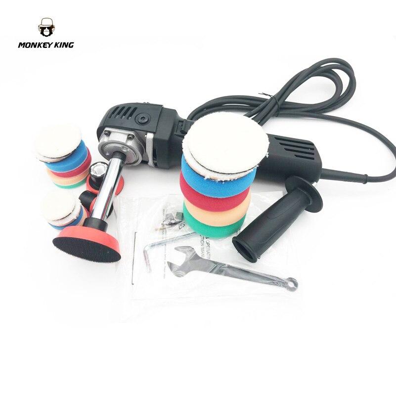 цена на 6 speed available M14 220v 110v 710w Mini electric hand cutting Angle Grinder polishing polisher machine