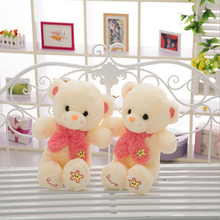 2016 New Children's plush Toy Teddy Bear 50cm60cm  Filling Bear Doll Birthday Christmas Gift Free Delivery m182