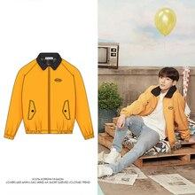 Chaquetas Bangtan de estilo Kpop para mujer, chaqueta Bomber Unisex para Fans de Jungkook, prendas de vestir del mismo estilo, ropa de calle de otoño, abrigo de Hip Hop