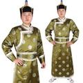Alta Calidad masculino vistió mongolia ropa de danza ropa ropa nacional de la danza hecha a mano masculina folklorique chinois folclorica china