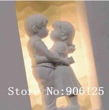 Современный штукатурка бра сладкий любовник, настенный светильник, стены бра гарантировано 100% + бесплатная доставка