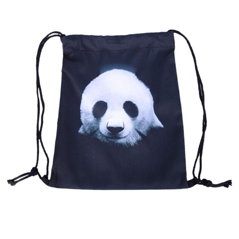Lovely 3D Printed Unisex Backpacks Bags Drawstring Rucksacks Big Capacity Schoolbag For Young Men & Women(Beige)