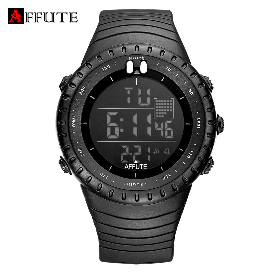 Fashion 50M Waterproof Men Sports Watches Silicone LED Man Military Digital Wristwatches Swimming Sport Watch Relogio