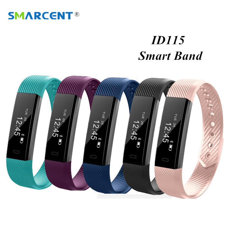 ID115 Smart Band Fitness Tracker Step Counter Smartband Anti-Lost Bluetooth Sports Wristband for IOS Android pk Y5 Z11 Bracelet