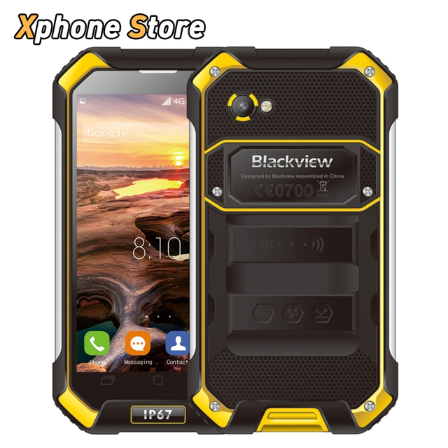 FAST SHIP Blackview BV6000 Android 6.0 4.7 inch 4G LTE RAM 3GB ROM 32GB Octa Core 2.0G with OTG NFC FM 13MP Camera Cellphone