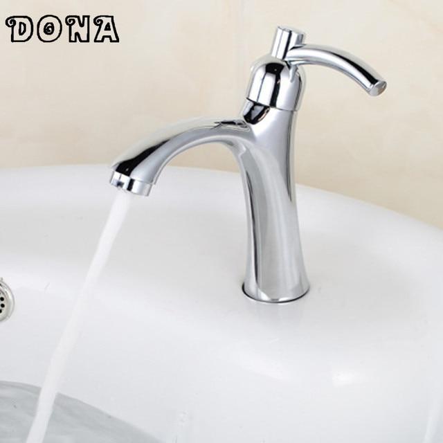 Robinet de lavabo unique bassin d eau froide évier robinets pour