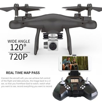 SMRC S10 RC drone 6 Axles Gyro Mini Drone With 720P HD Camera 2.4G Altitude Hold RC Quadcopter Helicopter Model Children's Toy