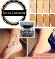 Waterproof Concealer for Tattoo Acne Scar Birthmark Spots 8 Colors for Option Longtime lasting Multi Use Tattooing Cover