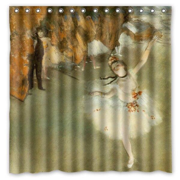 Online Shop High Quality Polyester Shower Curtain Edgar Degas