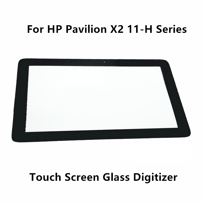 New 11.6 Touch Panel Screen Digitizer Glass Lens Replacement Part For HP Pavilion X2 11-H Series 11-h112nr 11-h100sa 11-h060ef tablet touch flex cable for microsoft surface pro 4 touch screen digitizer flex cable replacement repair fix part