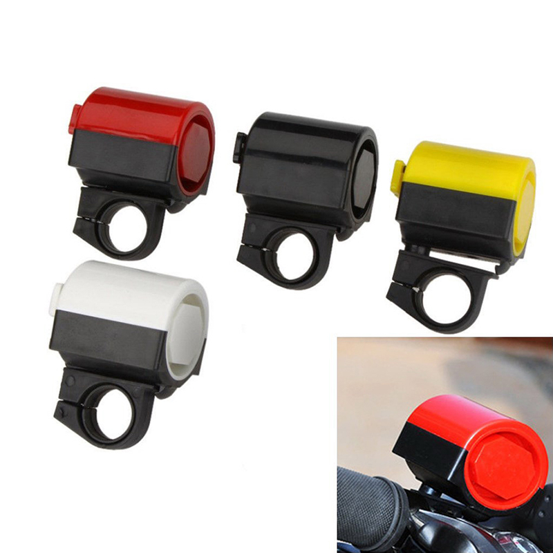 Electric Bike Bell 90db Horn Rainproof Road 3 Sound 4 colors Handlebar Bell
