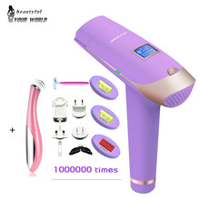 4in1 LCD lescolton 1000000 times depilador a laser IPL Epilator Hair Removal Display Machine Laser Permanent Bikini Trimmer