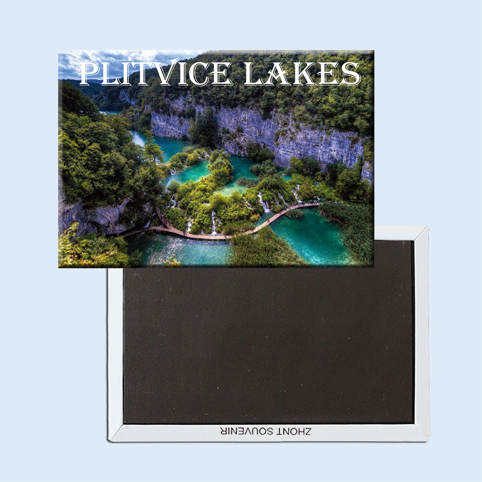 Plitvice Lakes National Park, Croatia beautiful landscapes Fridge Magnets 21525 Vacation Tourist Gift