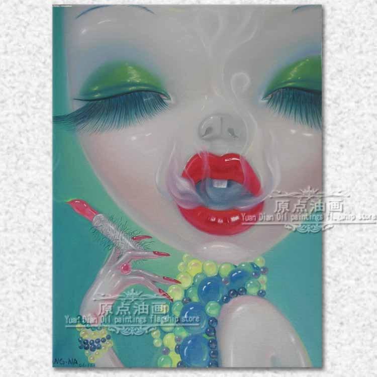 Сексуальная обнаженная картина, ручная роспись, картина маслом, люди, секс девушка, настенное искусство, ручная работа, картина маслом, поп а...