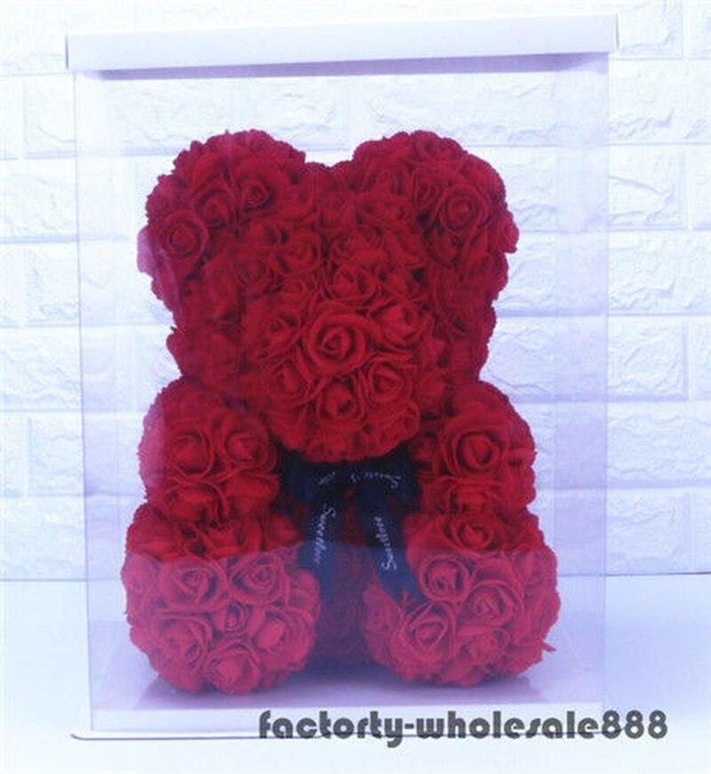 45cm Riesen Große Riesige Große Teddybär Rose Blume Bär Spielzeug Valentine Weihnachten Geschenk EIN Geburtstag Geschenk - 3