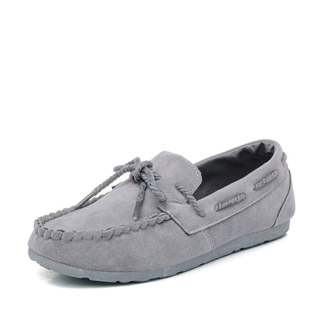 2016 Women's Loafers New Walking Shoes For Women Suede Massage Fashion Womens Flats 4 Designers Womens Casual Shoes Ladies Tenis