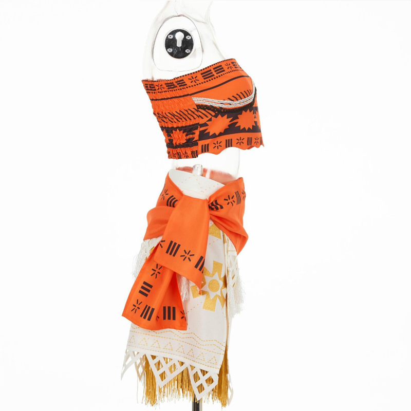 Image 4 - Adult/child Moana Costume Movie Cosplay Princess Party Corset Skirt Belt Custom Made