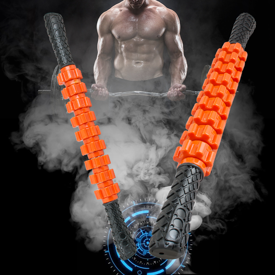 Hot Sale !! Travel Massager Roller Stick Trigger Point Sports Muscle Full Body Massage Tool Muscle Roller Stick