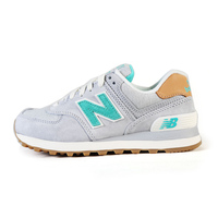 Hot NEW BALANCE men shoes Comfortable Running Shoes Grey Breathable Sneaker For women 6 colors Size 36 44 Green N