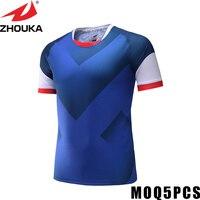 Fußball trainingsanzug machen ihr team jersey kleinkind custom football jerseys