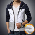 Hot 2016 New Winter Fleece Hoodies Designer Fashion Man Hoodie Sweatshirt Patchwork Men Casual Slim Mens Hoodies And Sweatshirts