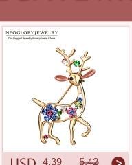 Neoglory, австрийские кристаллы и стразы, милые пингвины, серьги-гвоздики для женщин, для девочек-подростков, Модный Ювелирный камень, подарок, новинка