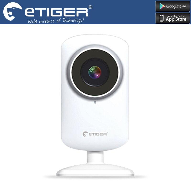 Etiger   720 p network camera cloud storage WIFI camera Night vision wide Angle camera hd