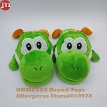5378f3216c76e OHMETOY Super Mario Brothers Yoshi adulte peluche pantoufle intérieur chaud  chaussures unisexe doux taille unique(