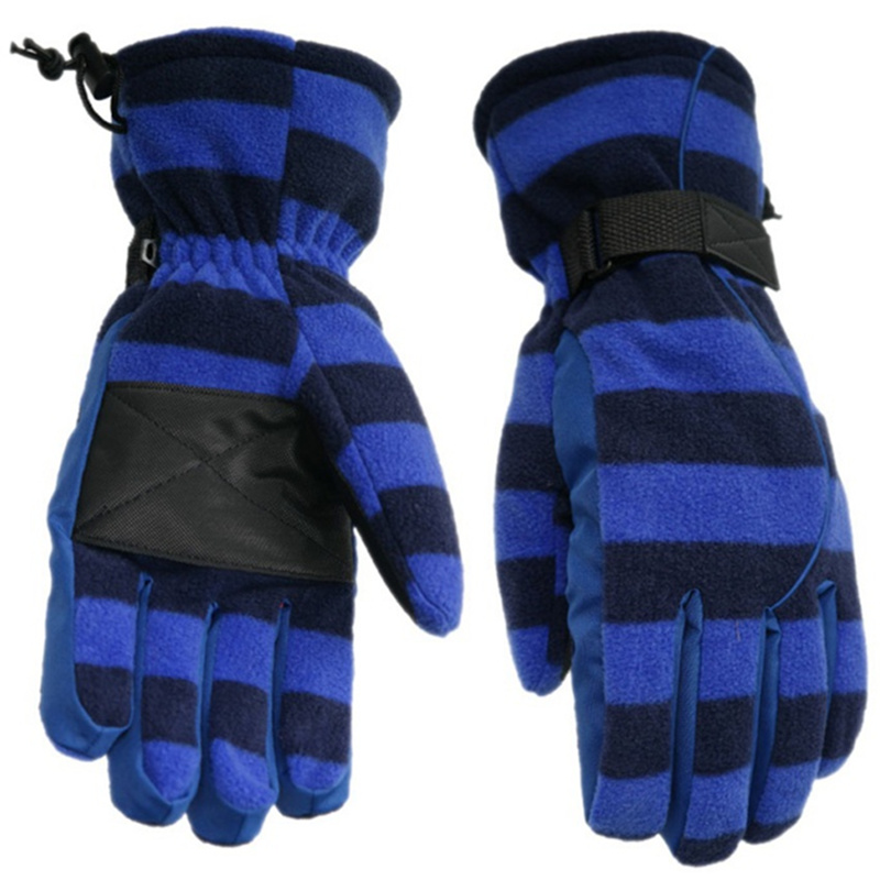 Outdoor Men Winter Gloves Waterproof Soft Warm Fleece Skiing Gloves Hand Warmer Work Out Driving Gloves Male T6