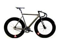 Crosstar Tyrans T2 Fixed Gear Bike Urban Track Bike Fixie Carbon Fiber Fork Commute Bike 90mm