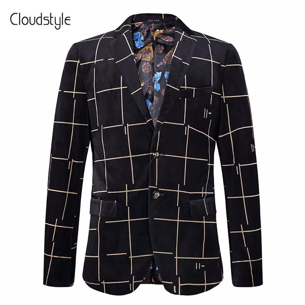 Maschio Indossa Cloudstyle Suit Uomini Nuovo Di Giacche Uomo Prestazione  Unico Cappotti Lattice Pulsante Partito 01 Modo 2018 Disegno Vestito ... 3f0106a1881d