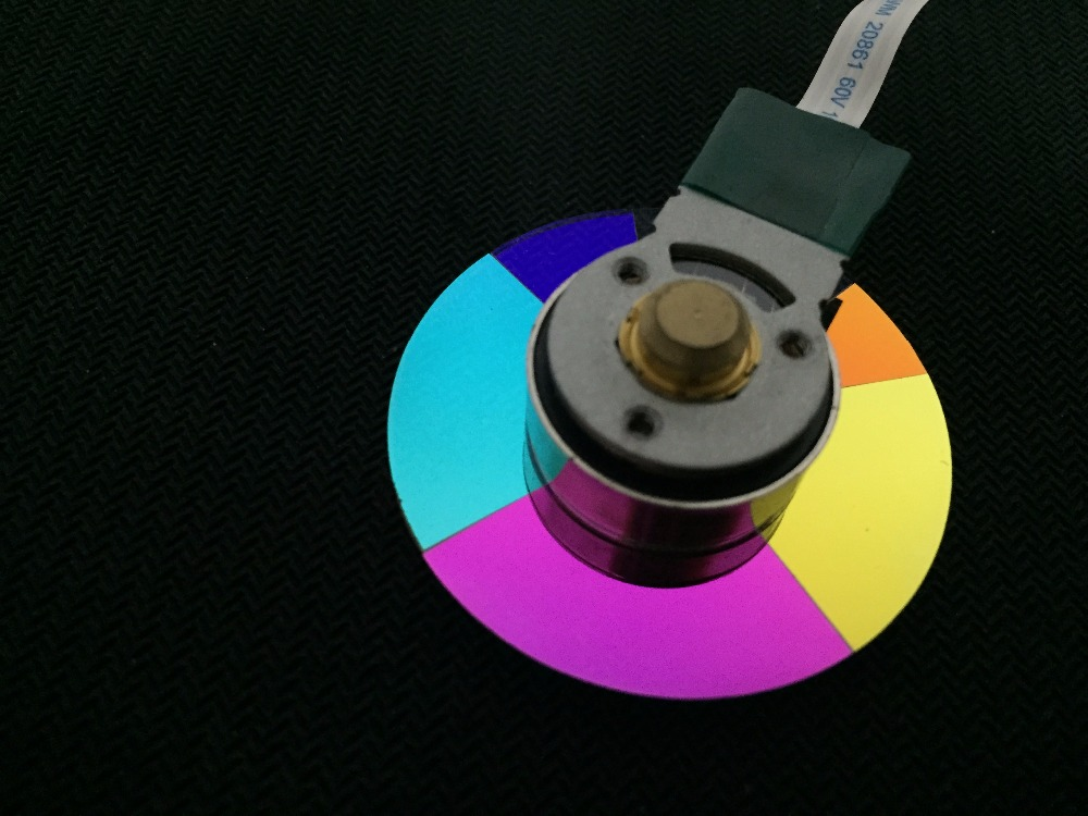 Brand New Original DLP Projector Color Wheel For Panasonic D5500 brand new dlp projector color wheel for benq mw814st
