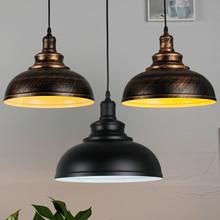 Antique vintage loft Nordic creative iron industrial retro pendant lamp cafe restaurant bar dining room chandelier hanging lamp
