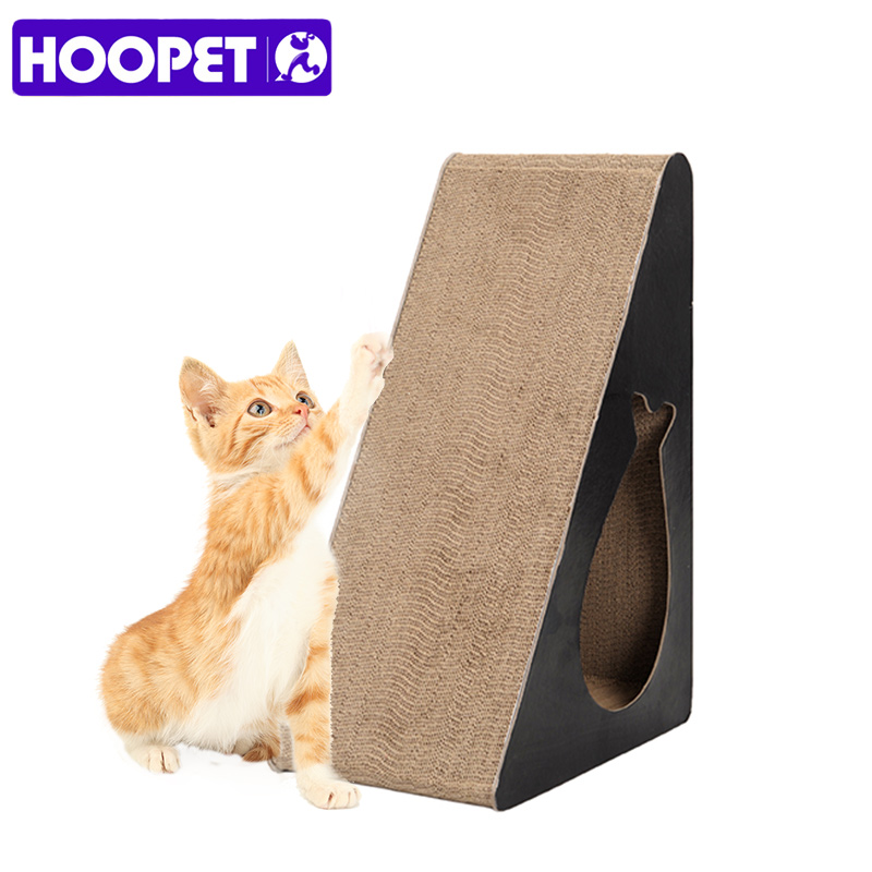 HOOPET Cat Scratch Board Interactive Play Toy Pet Training Supplies