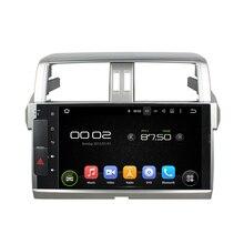 10.1 inch Screen Android 5.1 Car DVD Player GPS Navigation System Auto Radio Audio Video Media Stereo for Toyota Prado 2014 2015