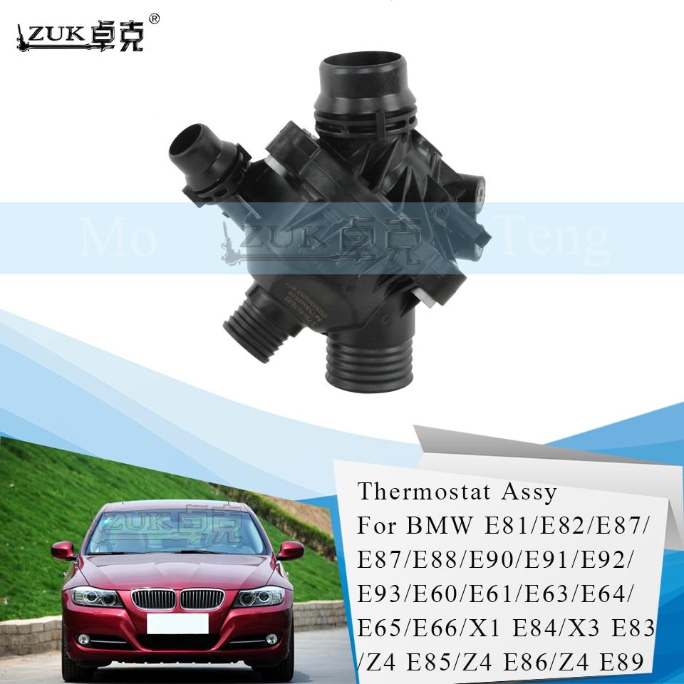 ZUK водяной насос термостат универсальная часть для хэтчбеков BMW серий 1 E81 E82 3 серии E90 E91 E92 E93 для N52 двигатель серии из натуральной кожи высокого качества