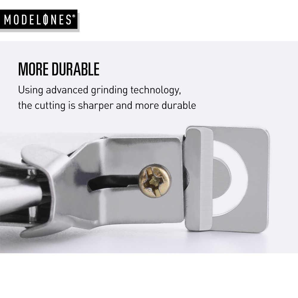 Forma de moda cortadora de uñas tijera recta DIY manicura puntas de uñas falsas corte de tijera cortador de uñas herramienta de Clip
