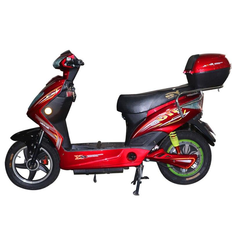 JS vélo électrique pour homme grande taille 2 roues tricycle électrique en alliage d'aluminium avec un siège 36 V puissance par batterie au Lithium