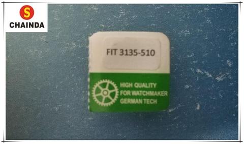 Motriz para Rachet 3135-510 para Rlx Frete Grátis Genérico Roda Movimento Calibre 3135 1 pc