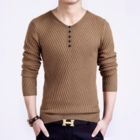 2017 Spring 4 Color Cotton Sweater People V Neck Men Sweater Shirt Jersey MULS Autumn And