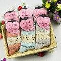 10 PCS = 5 pares calcetines mulheres coturno feminino de lã Grossa meias angora angora mistura meias de lã feminina inverno