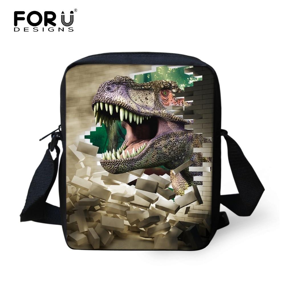 FORUDESIGNS Cool School Bags For Student Boy 3D Dinosaur Animal Children Schoolbag Kids School Backpack Mochila Infantil Escolar