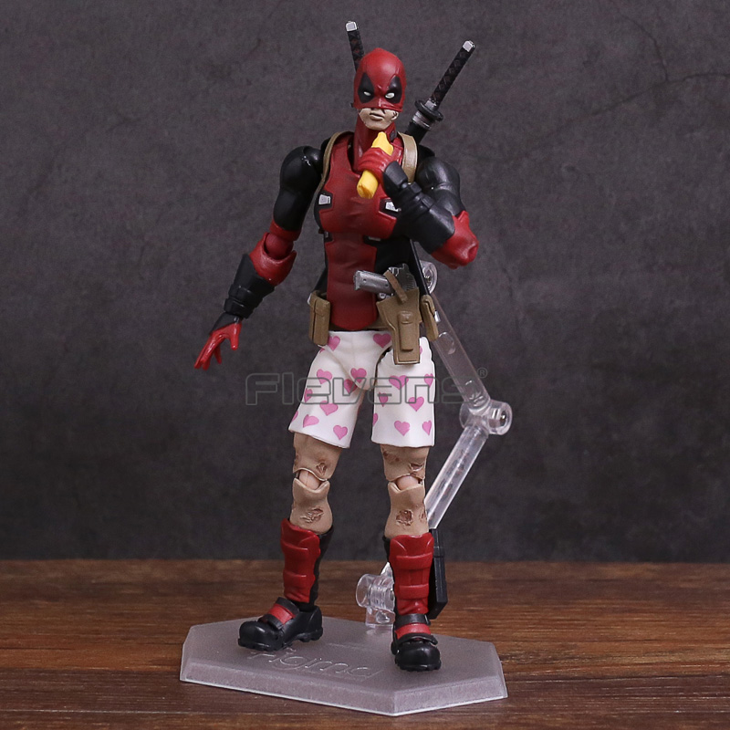 Figma EX-042 Deadpool DX Ver. PVC Action Figure Collectible Model Toy