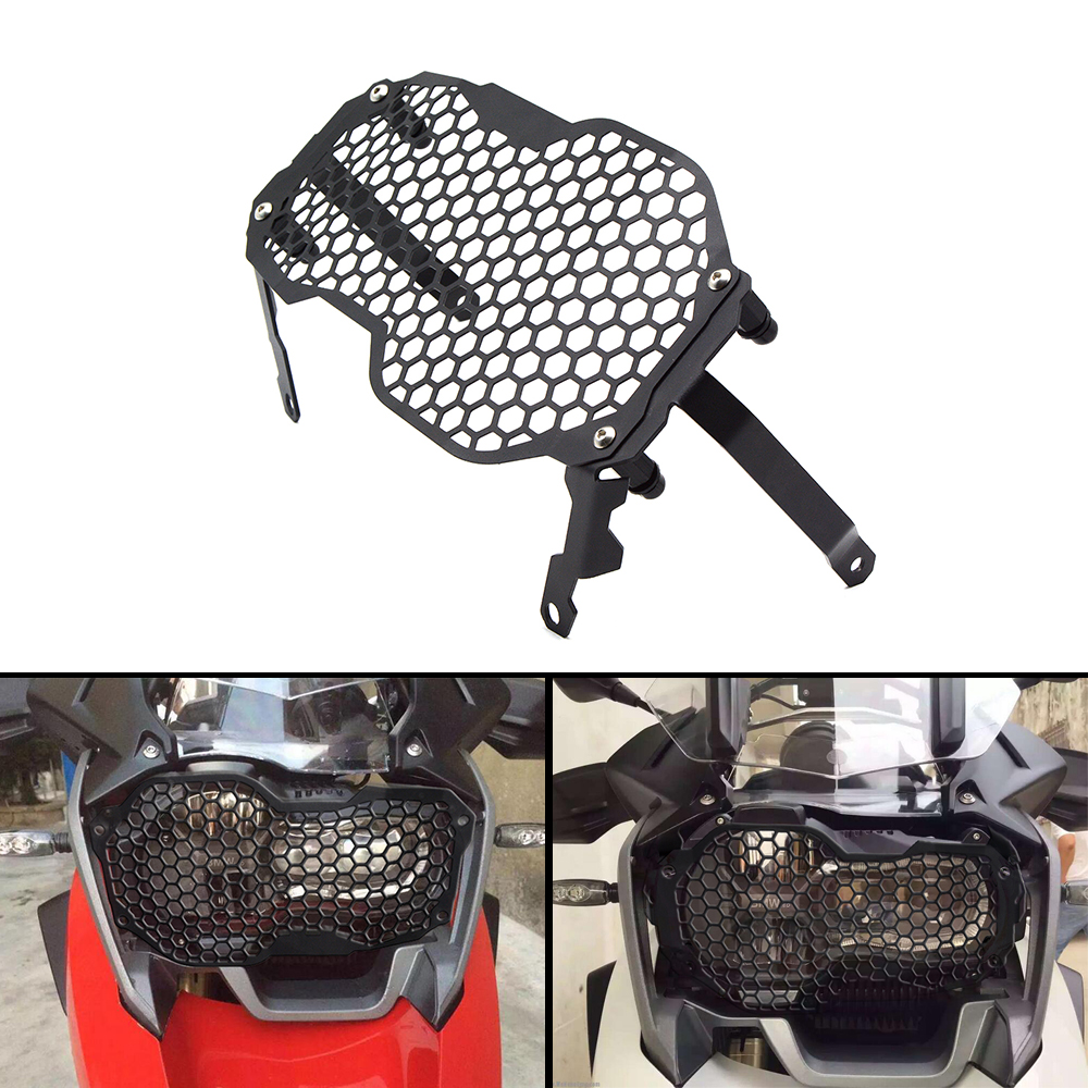 Motorbike Motorcycle Accessories Headlight Grille Guard Cover Protector Moto For BMW R1200GS ADV r 1200gs 2013 2014 2015 2016 high quality for bmw r1200gs 2013 2014 2015 motorcycle upper engine guard highway crash bar protector silver