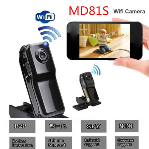 16GB Card+HD Camcorder Wifi Sport Mini P2P Video Wireless IP Camera DVR MD81S DVR Recorder|Surveillance Cameras| |  - title=