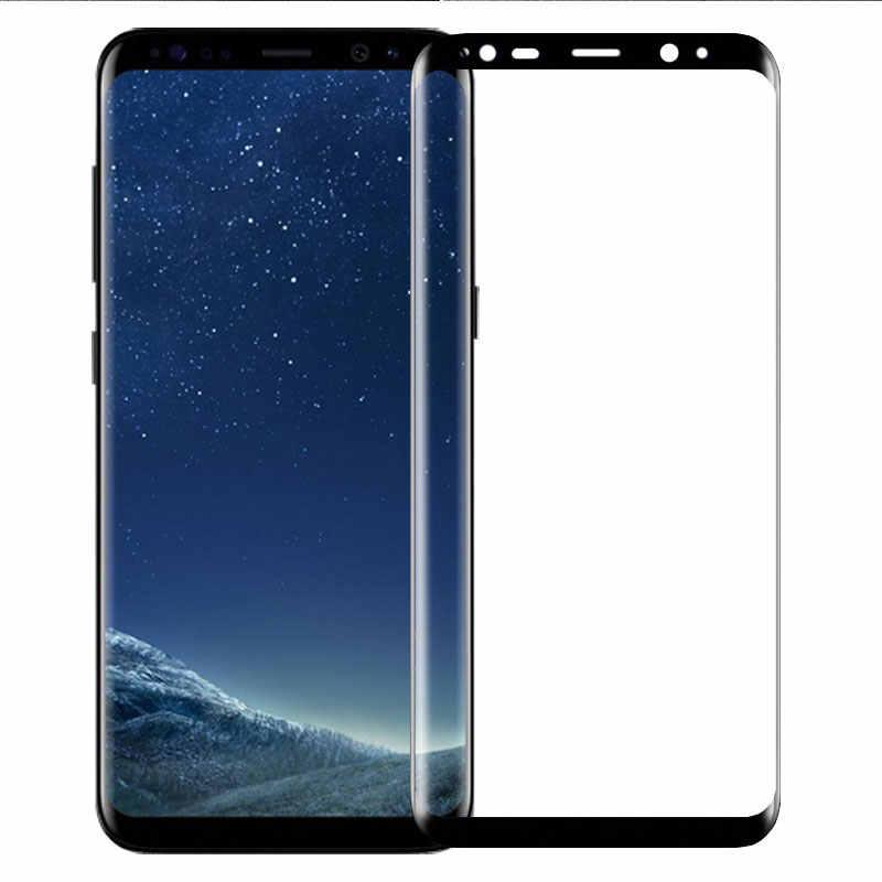 11d completa curvo vidro temperado para samsung galaxy s8 s9 mais nota 8 9 protetor de tela para samsung s6 s7 borda película protetora