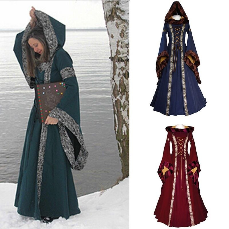 cosplay dress renaissance medieval cotton costume pirate